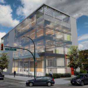 Fast + Epp's new office in Vancouver will be a mass timber superstructure. Image courtesy Fast + Epp