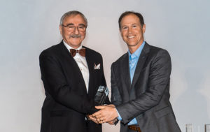 Roland Charneux has been awarded the Green Building Pioneer Award from the Canada Green Building Council (CaGBC). Photo © CaGBC