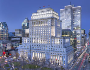 The Sun Life Building in Montréal has received the Leadership in Energy and Environmental Design (LEED) Platinum certification. Photo courtesy Stépan Poulain (CNW Group/BentallGreenOak)
