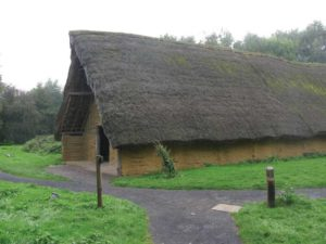 The Neolithic Long House, a timber home in Britain, was built in 9000 BC. Photo © Jiel Beaumadier