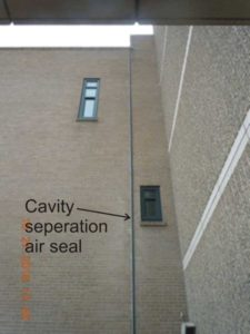 Figure 1: Vertical separation between low-rise building and high-rise tower.