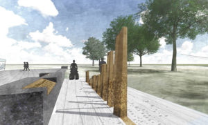 Design features have been revealed for the Afghanistan War Memorial to be located in Toronto's Queen's Park. Image courtesy Government of Ontario
