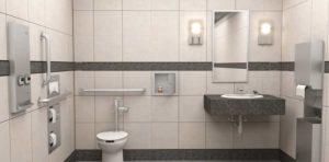 Images courtesy Bobrick Washroom Equipment, Inc.