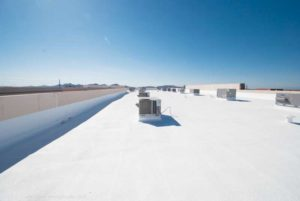 Sprayed polyurethane foam (SPF) is a three-in-one application because it insulates and creates an air as well as a vapour barrier.