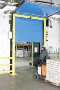 The fast cycle times of high-speed, roll-up doors minimize air exchange, thus reducing energy loss through a door opening and saving costs.