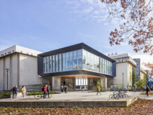 The revitalized biosciences complex at the University of British Columbia (UBC) is now open. Photo courtesy Andrew Latreille