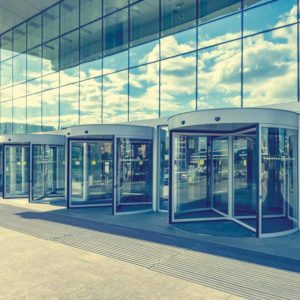 Representation of revolving doors. Photo © Shutterstock