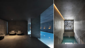 Strøm Nordic Spa, Qué., by Lemaymichaud has won the 'Project of the Year' award at the 13th edition of the Grands Prix Du Design 2020. Photo courtesy Adrien Williams