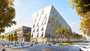 York University, Toronto, is constructing a new twisted building for its School of Continuing Studies. Image courtesy CNW Group/York University School of Continuing Studies