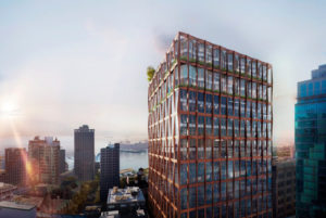 Kohn Pedersen Fox (KPF) gains key city approval for their newest Vancouver project. Image courtesy KPF