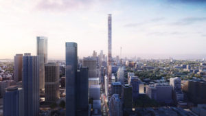 Herzog & de Meuron and Quadrangle unveil designs for Canada's tallest tower to be located in Toronto's Mink Mile neighbourhood. Image © Herzog & de Meuron