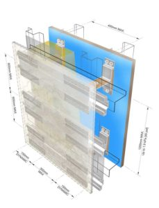 Proper substructure design and installation will extend the lifespan  of the façade and give superior results.