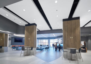 Over 50 pre-engineered, integrated solutions are available to make the design of ACOUSTIBuilt ceilings easier.
