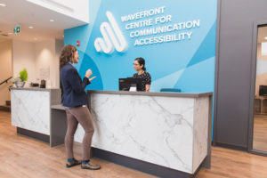 The Wavefront Centre for Communication Accessibility, Vancouver, scored 96 per cent under the Rick Hansen Foundation Accessibility Certification program, achieving the highest national rating to date. Photo via Wavefront Centre Facebook