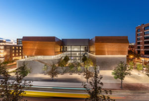 The Dallas Holocaust and Human Rights Museum (Dallas, Texas) by OMNIPLAN Architects has won a 2020 North American Copper in Architecture award. Photo © Jason O'Rear