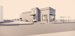 Nexii Building Solutions Inc. (Nexii) has constructed a Starbucks store in Abbotsford, B.C. Rendering courtesy Starbucks/Nexii