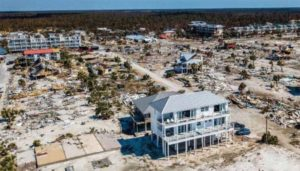 Figure 2: Builders went beyond code to ensure life safety and the longevity of this insulated concrete form (ICF)-constructed home. When the Category 5 Hurricane Michael struck the Florida panhandle in 2018, this building withstood the extreme force of wind and water even though dozens of structures were destroyed.