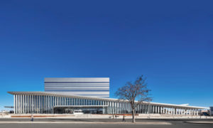 Diamond Schmitt has completed the Buddy Holly Hall of Performing Arts and Sciences, a new state-of-the-art performance venue in Lubbock, Texas. Photo courtesy Diamond Schmitt