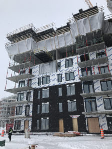 This new insulation application method, where all the spray foam is done from the inside of a large building, can save building owners both time and money.