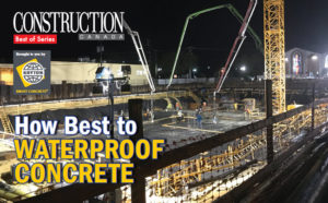 The magazine's series of e-books continues with a focus on waterproofing.
