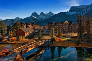 The Spring Creek Mountain Village phase one, Canmore, Alta., has received the first 'Community' certification by Built Green Canada. Photo courtesy Built Green Canada