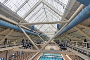 The Weyerhaeuser King County Aquatic Center (after).