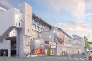 Vancouver-based nonprofit Arts Umbrella opens new arts education centre in Granville Island. Image courtesy Arts Umbrella
