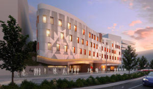 The Anishnawbe Health Centre, designed by Stantec, breaks ground in Toronto's Indigenous Hub. Rendering courtesy Stantec