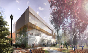 Following a design competition, Anne Carrier architecture has been selected to design the Bibliothèque de Marieville in Marieville, Qué. Rendering courtesy Anne Carrier architecture