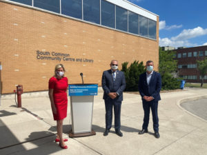 Ontario will be investing over $45 million to reconstruct the South Common Community Centre and Library in Mississauga. Photo courtesy City of Mississauga