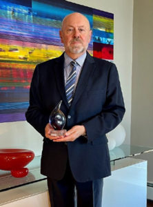 The Alberta Association of Architects (AAA) has bestowed the Tom Sutherland Award to William (Bill) Chomik, Architect, AAA, in recognition of his design expertise, community service, and leadership in the field of architecture. Photo courtesy AAA