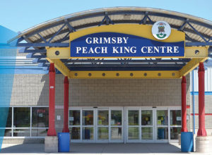 Ontario will be investing more than $16 million to support the expansion and renovation of the Peach King Centre in Grimsby. Photo via Town of Grimsby Twitter