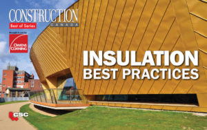 The magazine's series of ebooks continues with a focus on insulation.